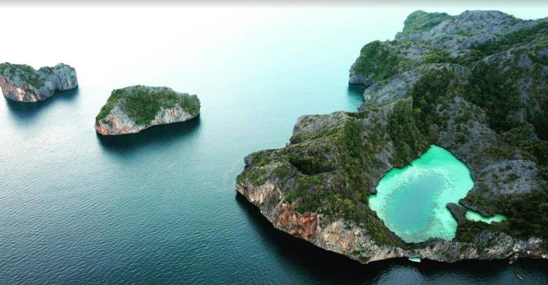 เกาะหัวใจมรกต แห่งท้องทะเล ประเทศพม่า