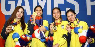 ทีมดาบเซเบอร์สาวไทย
